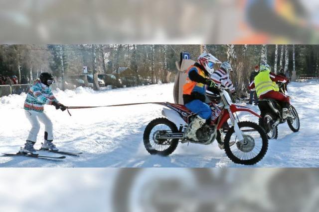 Eiskalte Kerle auf heißen Maschinen