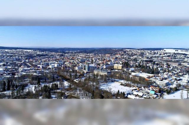 Klirrend kaltes Donaueschingen