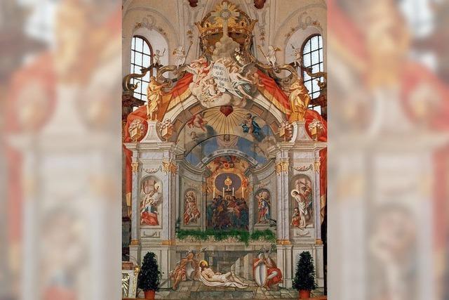 Heiliges Grab wieder aufgestellt