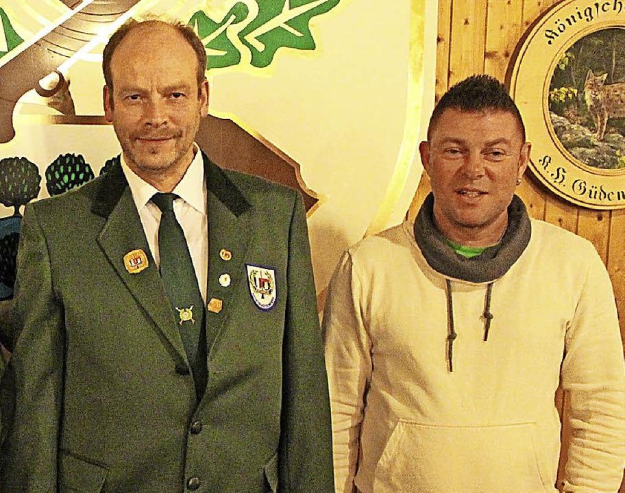 Oberschützenmeister Santus Grizzaffi (... südbadischen Sportschützenverbandes.   | Foto: H. Bader
