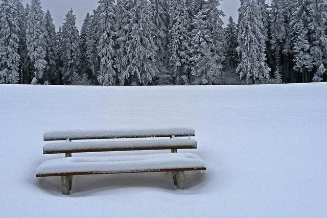 Der Winter bleibt sitzen
