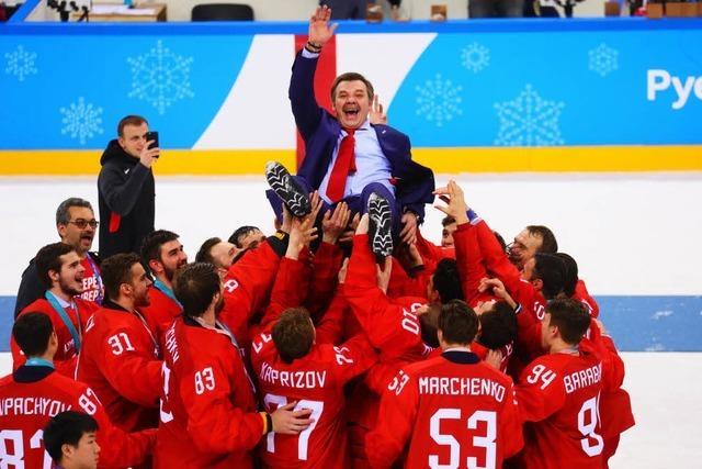 Russland gewinnt dramatisches Eishockey-Finale gegen das DEB-Team