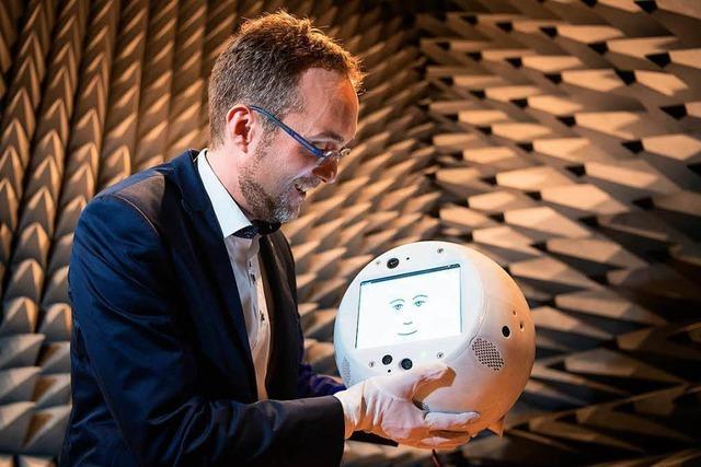 Ein Roboter soll in Zukunft Astronauten zur Hand gehen – und für gute Laune sorgen