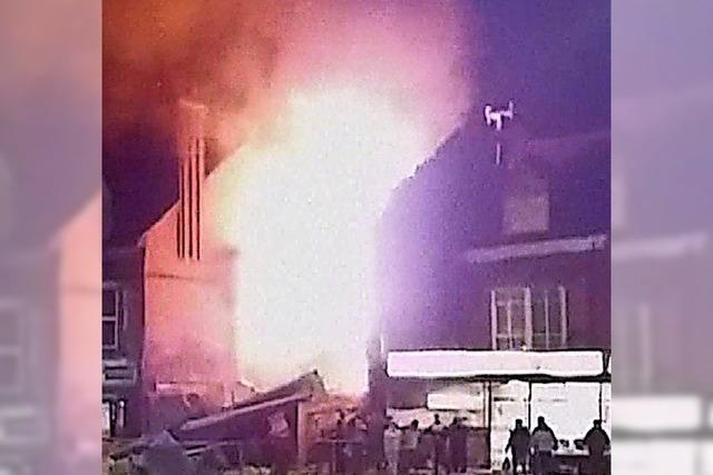 Fünf Tote bei Explosion