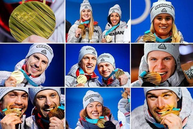 Interaktive Grafik: Das sind die deutschen Medaillengewinner