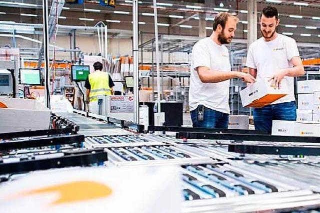 Schon 1000 Mitarbeiter arbeiten bei Zalando in Lahr
