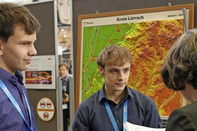 Schüler in Lörrach messen die Feinstaub-Belastung in der Stadt