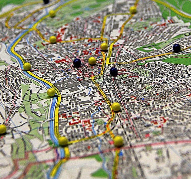 An 19 Orten wird in Lörrach die Feinstaubbelastung gemessen.    Foto: Aaron Hohenfeld