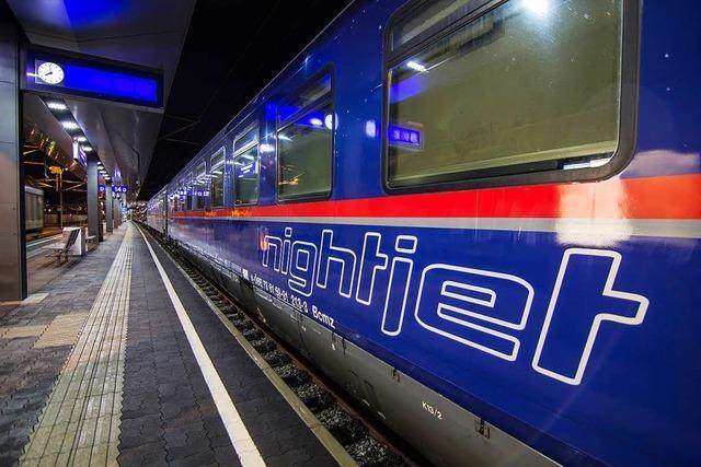 Deutsche Bahn und ÖBB tun sich schwer mit der Kooperation bei den Nachtzügen