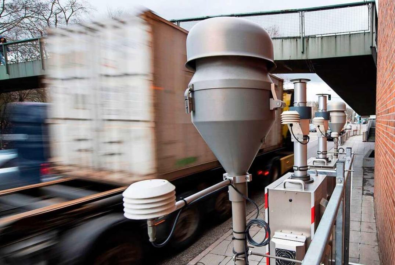 Dieselfahrverbote sind nun erlaubt.    Foto: AFP