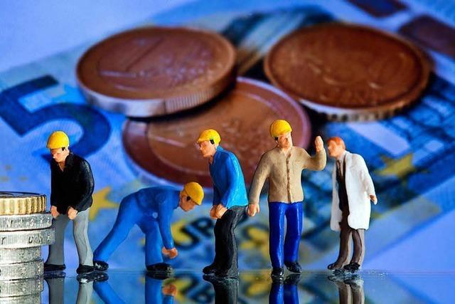 Löhne steigen: Geringverdiener bekommen mehr Geld
