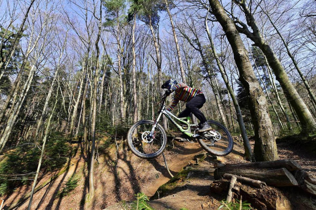 Eine Idee aus der Jugendbeteiligung: eine Mountainbike-Strecke auch für Anfänger  | Foto: Thomas Kunz