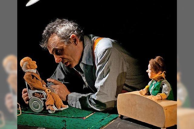 Stefan Libardi zeigt am Samstag das Kriminalstück