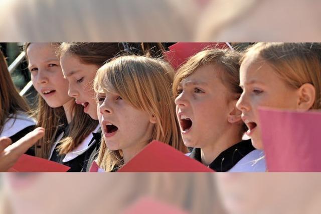 Offenes Singen besonders im Fokus