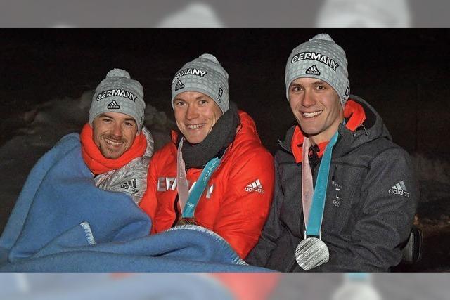Olympiasieger stecken unter einer Decke