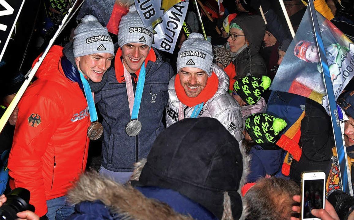 Der Hochschwarzwald Feiert Seine Helden Breitnau Badische Zeitung