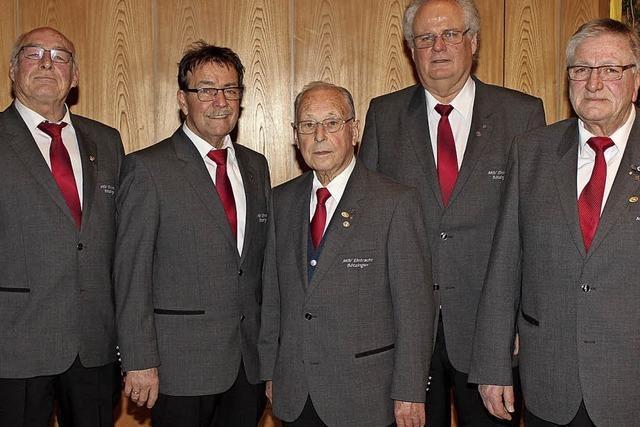 Männergesangverein Bötzingen lädt zum Konzert mit Gastchören