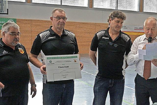 Hohe Auszeichnung für Klaus Auer