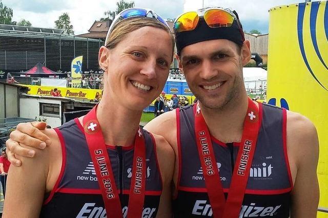 Freiburger Geschwister überzeugen auf der Ironman-Distanz