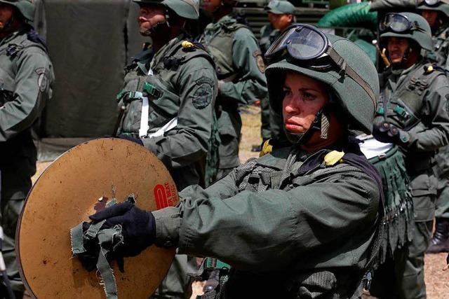 Das Militär im Einsatz gegen das eigene Volk