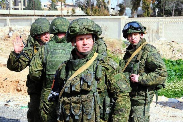 Russland ist in Syrien Brandstifter und Feuerwehrmann zugleich