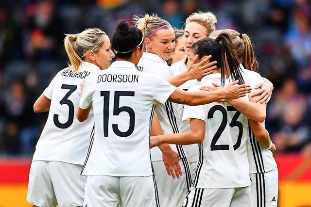 Deutsche Fußballerinnen wohl zum letzten Mal beim She-Believes-Cup
