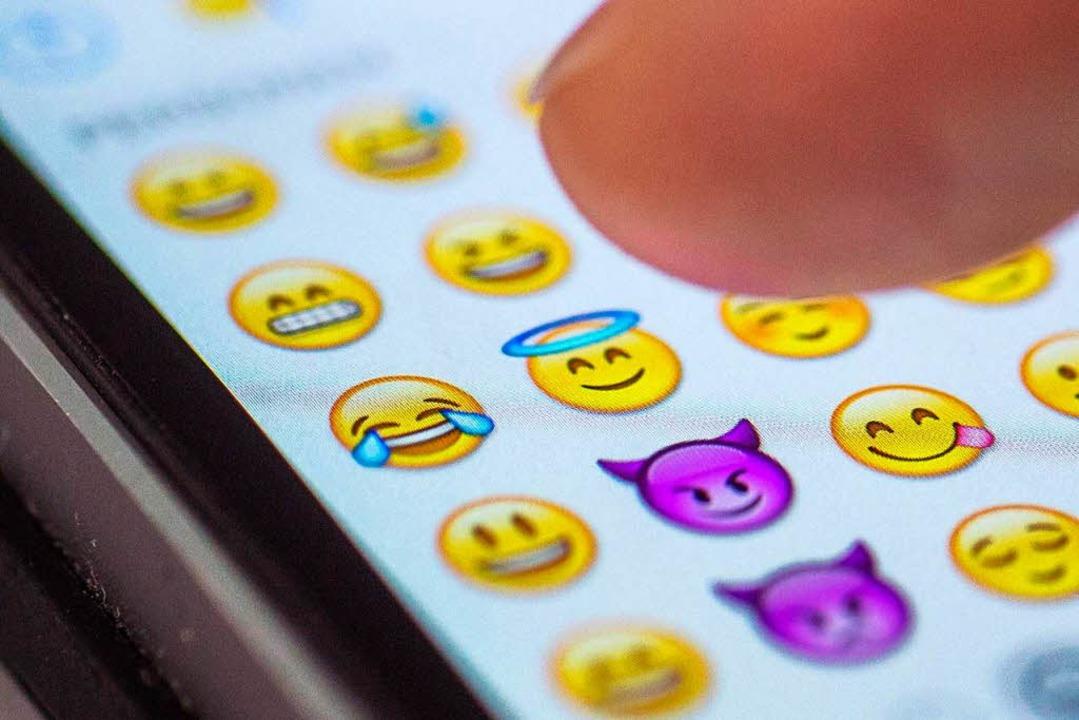 Emotionen nicht nur als Emoticons auf ...ll ein Augsburger Forscher nun ändern.    Foto: dpa