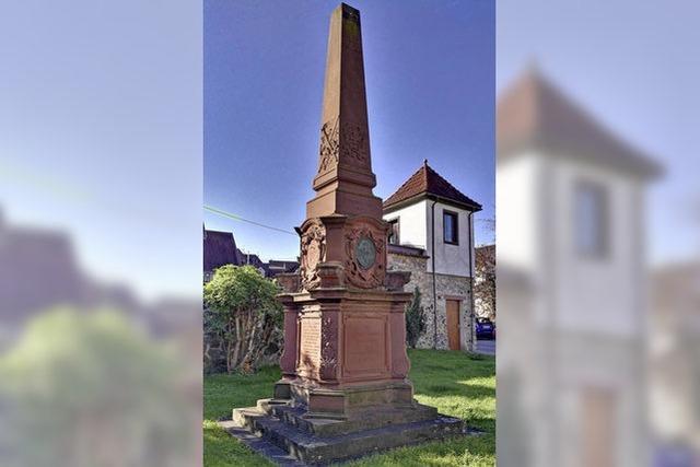 Neuer Platz für Denkmal?