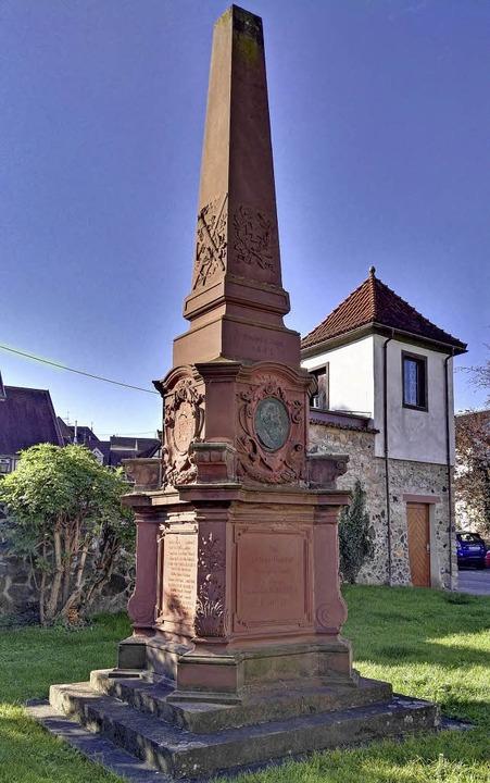 Das 120 Jahre alte Kriegerdenkmal wird restauriert.  | Foto: Archivfoto: Wendel