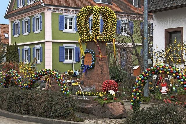 Das Dorf feiert das ganze Jahr über