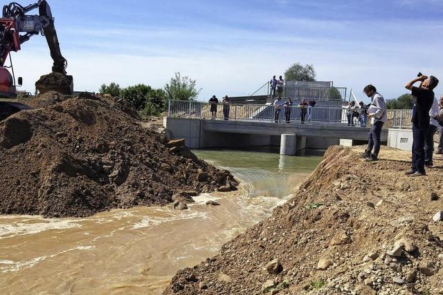 Vier Düker unterqueren den Kanal
