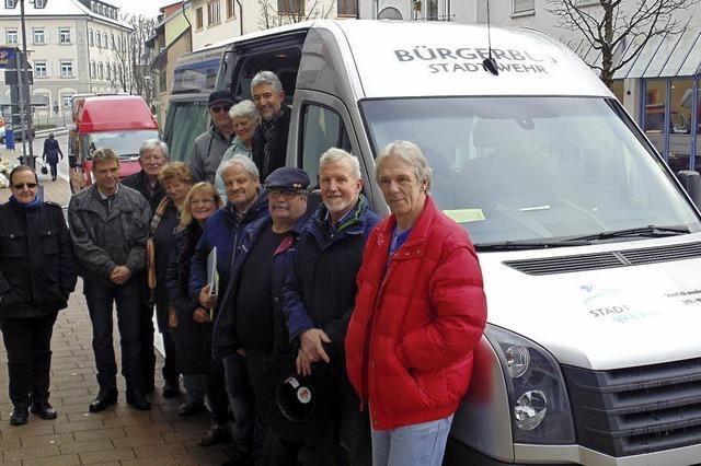 Bürgerbus bricht zur Jungfernfahrt auf