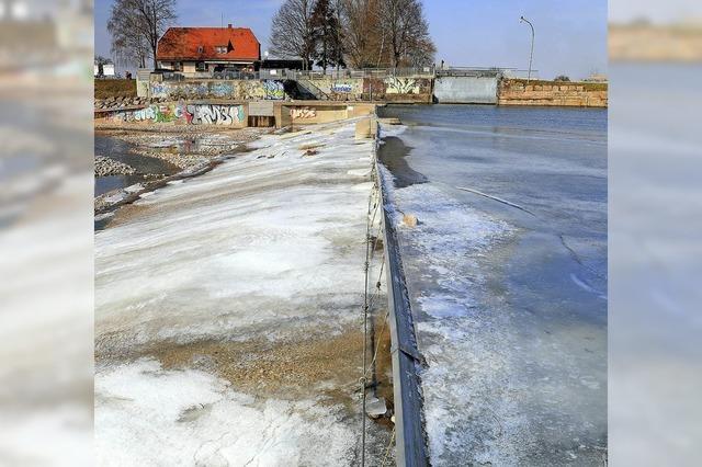 Eiszeit an der Kinzig