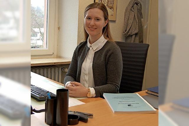Svenja Birkle ist die neue Leiterin des Rechnungsamts im Glottertäler Rathaus
