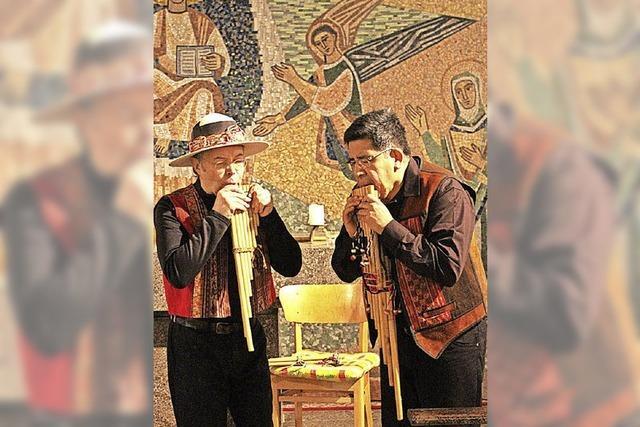 Vier Musiker entführen musikalisch in die Anden