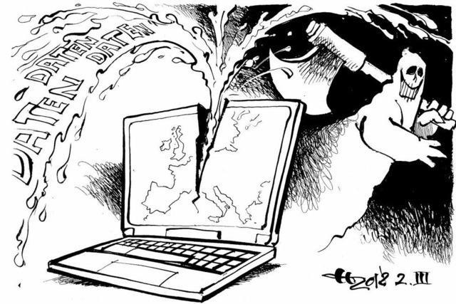 Ein Hacker geht um in Europa