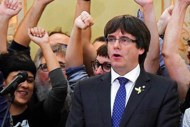 Puigdemont verzichtet
