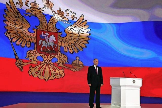 Putin zeigt neue Atomwaffen