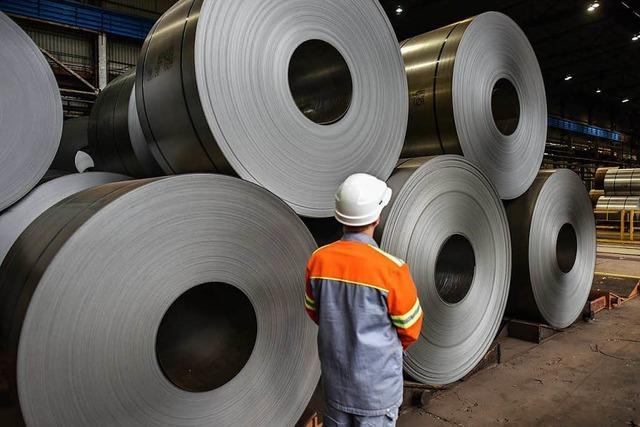 Trump riskiert mit Stahl-Zöllen Handelskrieg - EU will Vergeltung