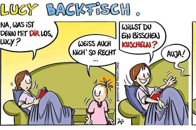 Lucy Backfisch: Kuscheln