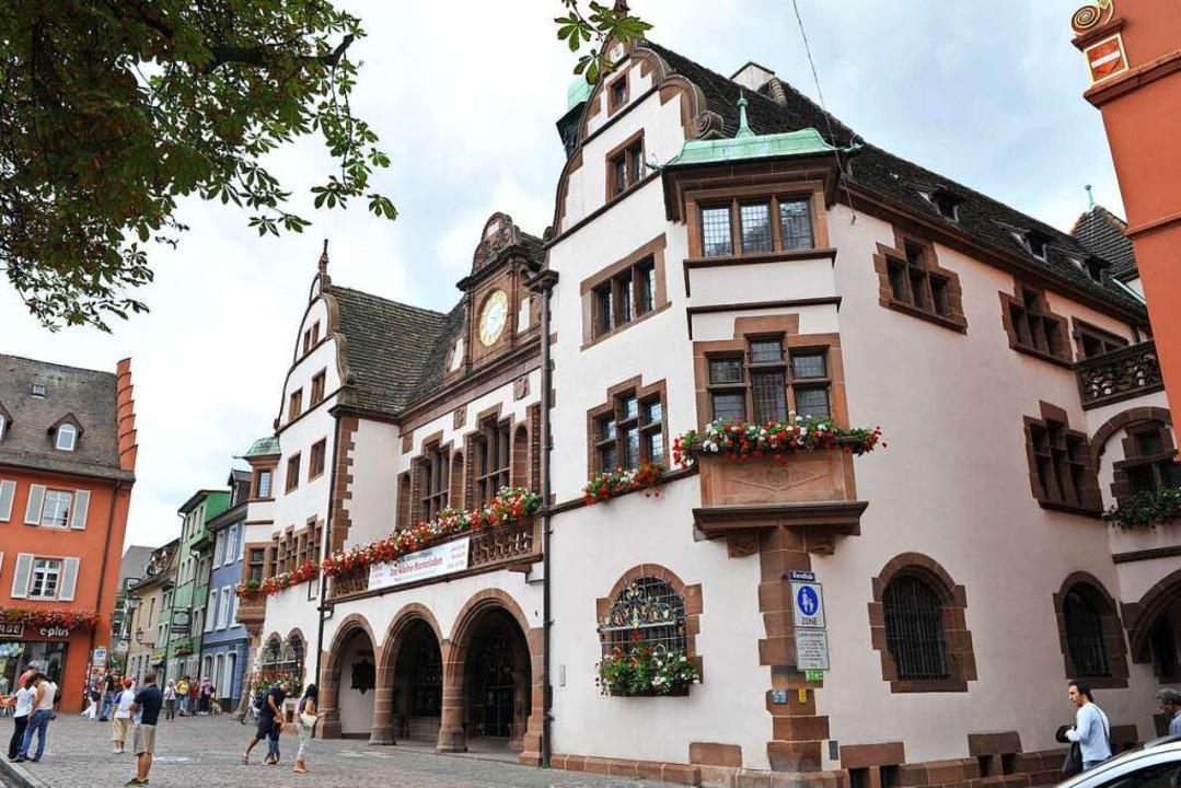 Das Freiburger Rathaus (Archivbild).  | Foto: Rita Eggstein