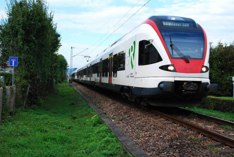 Kommt die S-Bahn pünktlich an der halt...et eine App der SBB (Archivbild, 2016)  | Foto: Thomas Loisl Mink