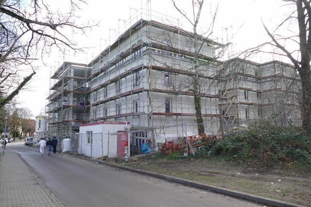 Neues Seniorenpflegeheim soll im Sommer fertig sein