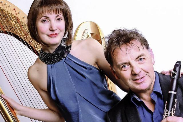 Simone Seiler und John Corbett am 4. März in Eichstetten