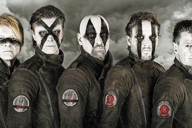 Band Megaherz präsentiert am Samstag, 3. März, in der Konzertfabrik Z7 das neue Album
