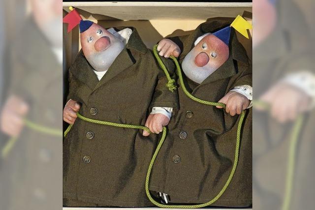Puppenparade in Offenburg im Salmen