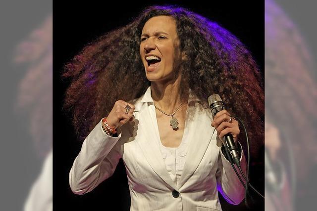 Die polnische Sängerin Magda Piskorczyk gastiert in Schopfheim und Weil am Rhein