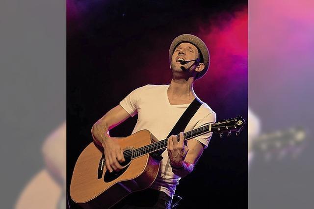 Der kanadische Singer/Songwriter David Blair in Efringen-Kirchen