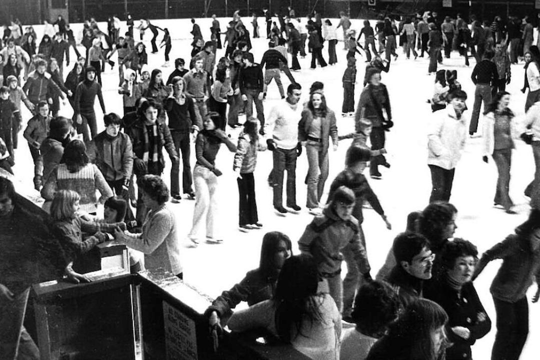 Großer Andrang herrschte immer beim Publikumslauf.     Foto: Archiv Wolfram Köhli