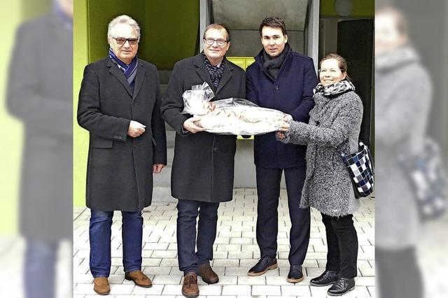 Familien ziehen in Werderstraße ein